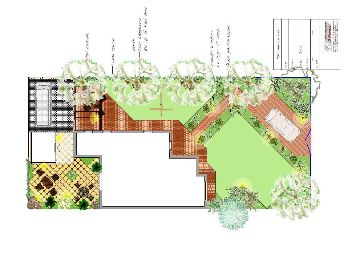 Tuinontwerp-tuinadvies-beplantingsplan-kop van Noord Holland ...